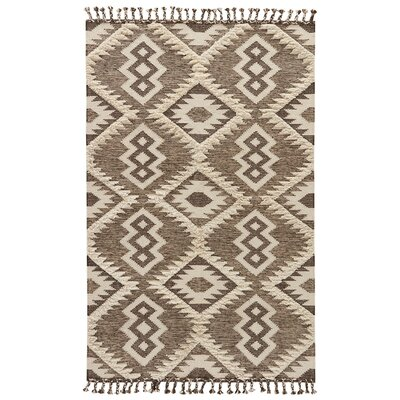 CalabasasTurtledove/Tarmac Flat Weave Area Rug Rug Size: Rectangle 2 x 3