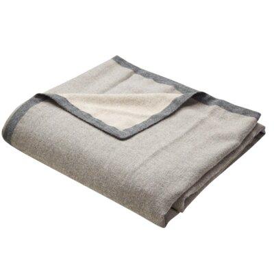 Calaveras Baby Alpaca Throw Color: Grey / Tan