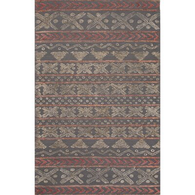 Calimesa Wool Hand Tufted Gray Area Rug Rug Size: 8 x 11