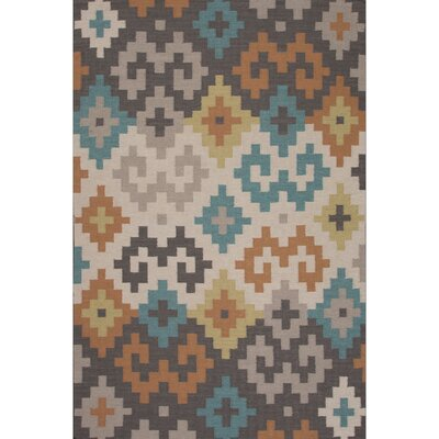 Camarillo Flat Weave Wool Area Rug Rug Size: 2 x 3