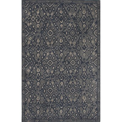 Camarillo Tufted Wool Hand Tufted Blue Area Rug Rug Size: 8 x 11