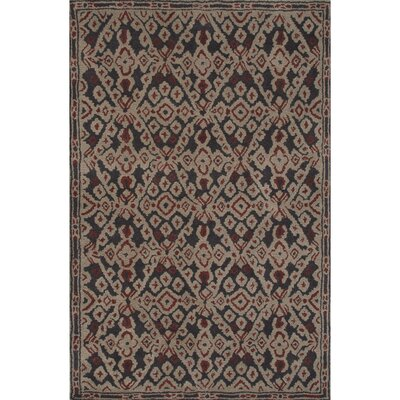 Camarillo Wool Hand Tufted Pewter Area Rug Rug Size: 5 x 8