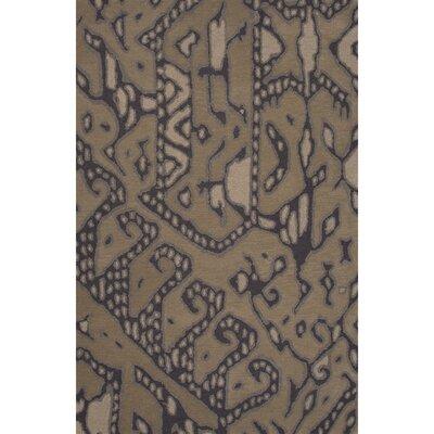 Camarillo Wool Hand Tufted Taupe/Dark Shadow Area Rug Rug Size: 2 x 3