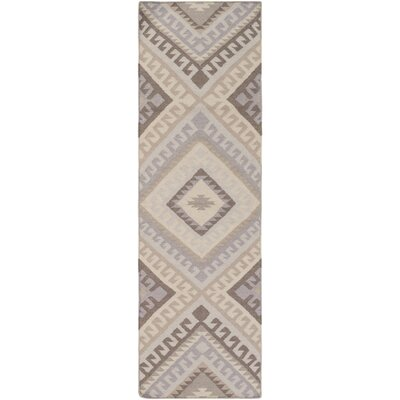 Janelle Hand-Woven Area Rug Rug Size: Runner 26 x 8