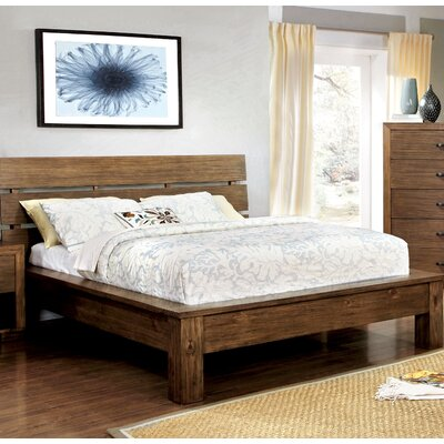 Woodsetter Platform Bed Size: Queen