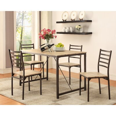 Brea 5 Piece Dining Set