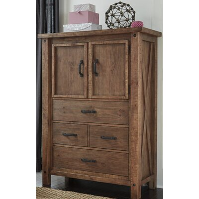 Saranac 3 Drawer Gentlemans Chest