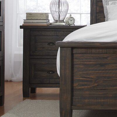 Sheraden 2 Drawer Nightstand