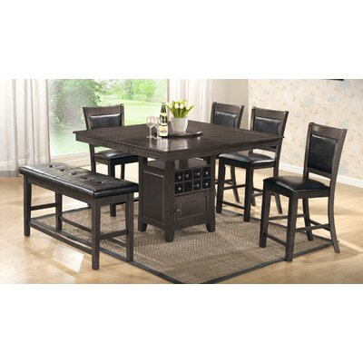 Brillion 6 Piece Dining Set Finish: Gray