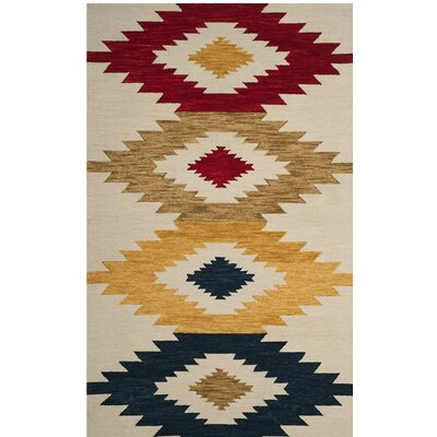 Aldwich Hand-Tufted Multi-Color Area Rug Rug Size: Runner 23 X 11