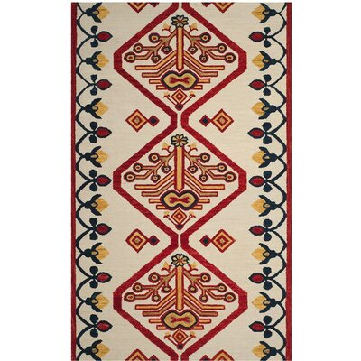 Aldwich Hand-Tufted Multi-Color Area Rug Rug Size: 8 x 10