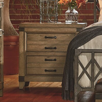 Brigadoon 2 Drawer Nightstand