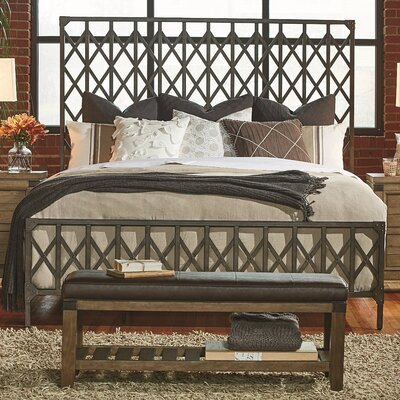 Brigadoon Panel Bed Size: King