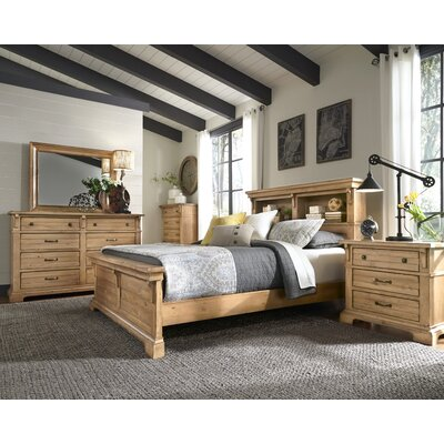 Brownwood Bookcase Panel Customizable Bedroom Set