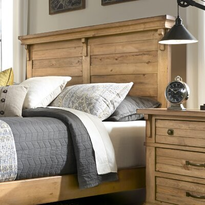Rhian Panel Headboard Size: King