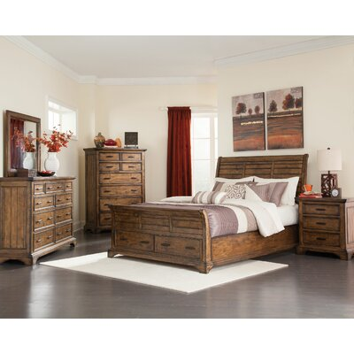 Pinole Sleigh Configurable Bedroom Set