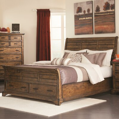 Pinole Storage Sleigh Bed Size: Queen