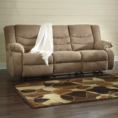 Ridgemont Reclining Sofa Upholstery: Mocha