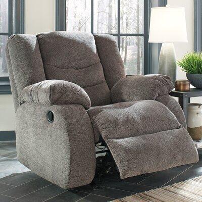 Ridgemont Rocker Recliner Upholstery: Gray
