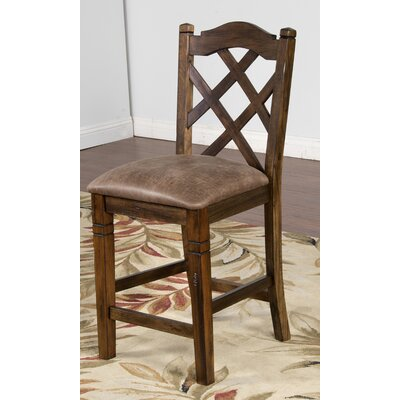 Fresno 24 Bar Stool Finish: Antique