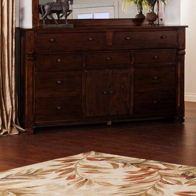 Fresno 9 Drawer Combo Dresser