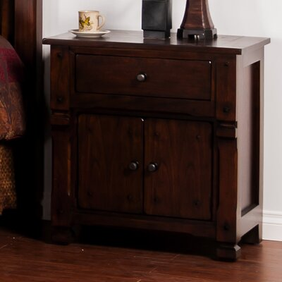Fresno 1 Drawer Nightstand