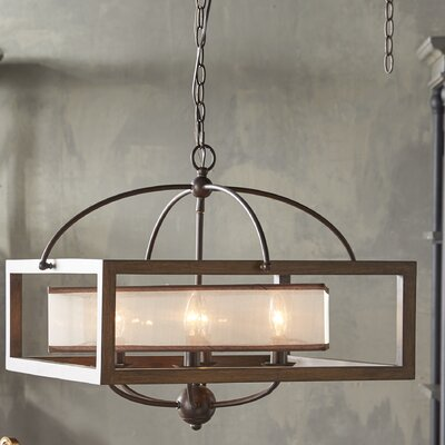 Bundoran 6-Light Candle-Style Chandelier