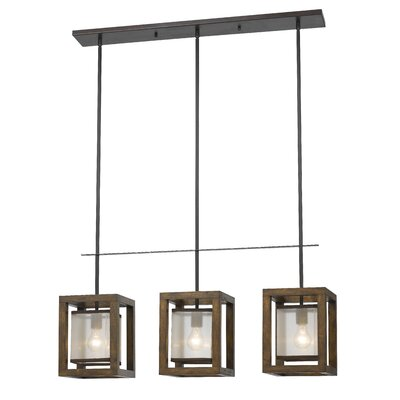 Bundoran 3-Light Kitchen Island Pendant