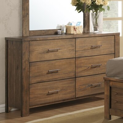 Cayuse 6 Drawer Double Dresser