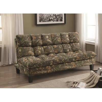 Hassa Sleeper Sofa Upholstery: Yellow
