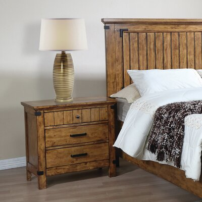 Hartford 3 Drawer Nightstand