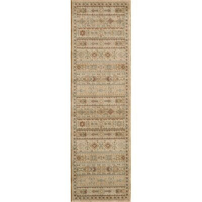 Belmont Ivory Area Rug Rug Size: Rectangle 93 x 126