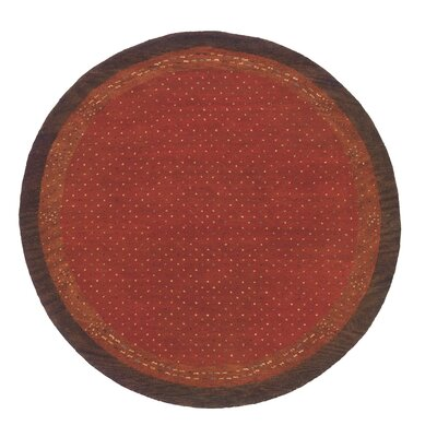 Havsa Desert Gabbeh Hand-Woven Paprika Area Rug Rug Size: Rectangle 53 x 8