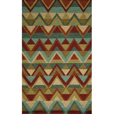 Veranda Hooked Indoor/Outdoor Area Rug Rug Size: 2 x 3