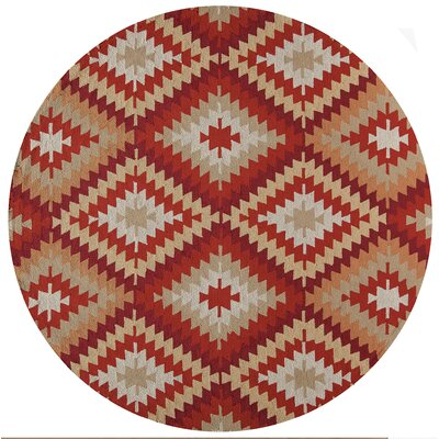 Madison Hooked Area Rug Rug Size: Round 9