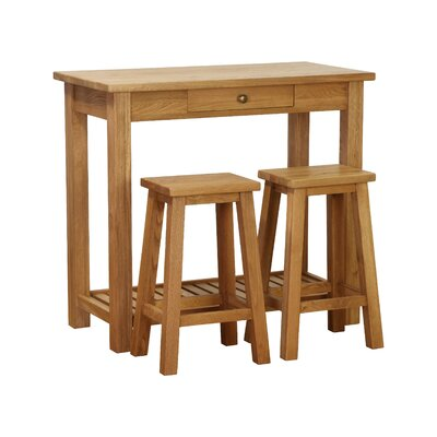 St. Helena 3 Piece Pub Table Set