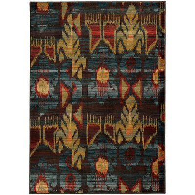 Honaz Tribal Grey/Blue Area Rug Rug Size: 110 x 3