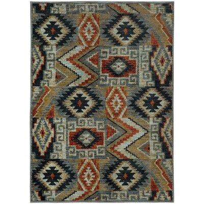 Honaz Blue Area Rug Rug Size: 310 x 55