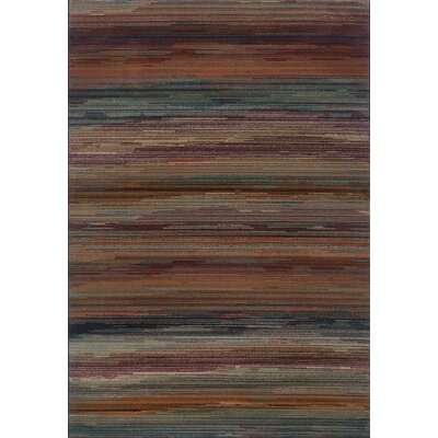 Horasan Stripe Area Rug Rug Size: Rectangle 53 x 76