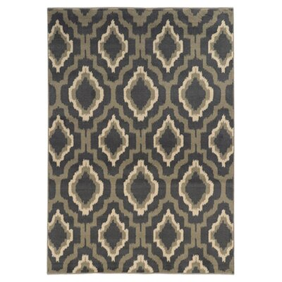 Willingford Gray/Beige Area Rug Rug Size: 33 x 55