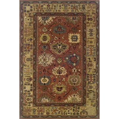 Glenpool Hand-made Area Rug Rug Size: Rectangle 96 x 136