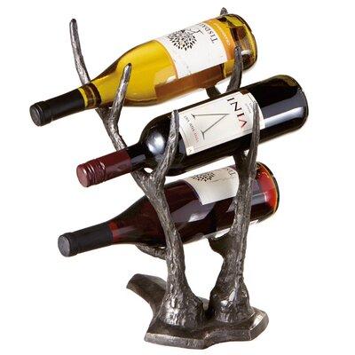 Hilvan 3 Bottle Tabletop Wine Rack