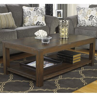 Cattle Creek Coffee Table with Magazine Rack