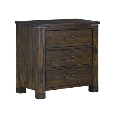 Crater Ridge 3 Drawer Nightstand