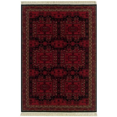 Emory Oushak Brick Red Rug Rug Size: Rectangle 22 x 49