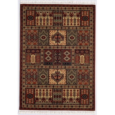Emory Antique Nain Burgundy Area Rug
