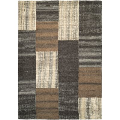 Lynn Luster Hand-Woven Brown Area Rug Rug Size: Rectangle 56 x 8