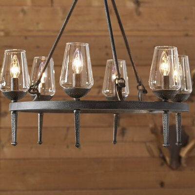 Rock Springs 6-Light Candle-Style Chandelier