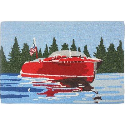 Davey Vintage Motor Boat Mat