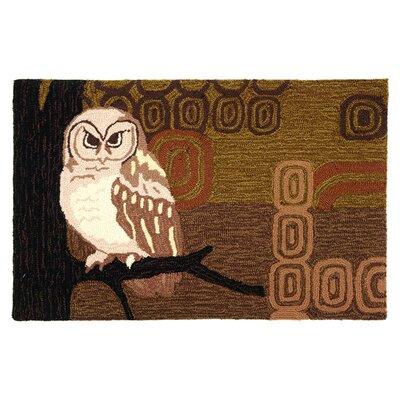 Marshall Retro Owl Rug Rug Size: 110 x 210